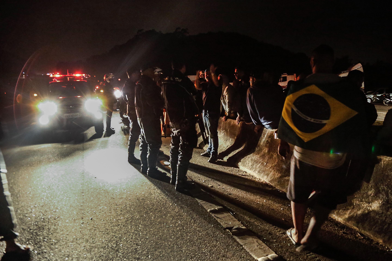 انتشار قوات الامن فى البرازيل