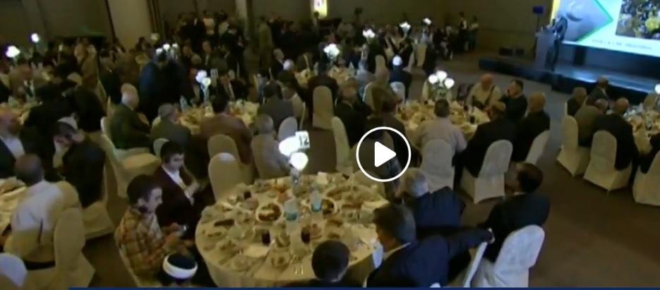 حفل الافطار الفاخر للإخوان فى اسطنبول