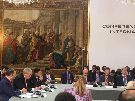 الاجتماع الدولى بباريس حول ليبيا (1)