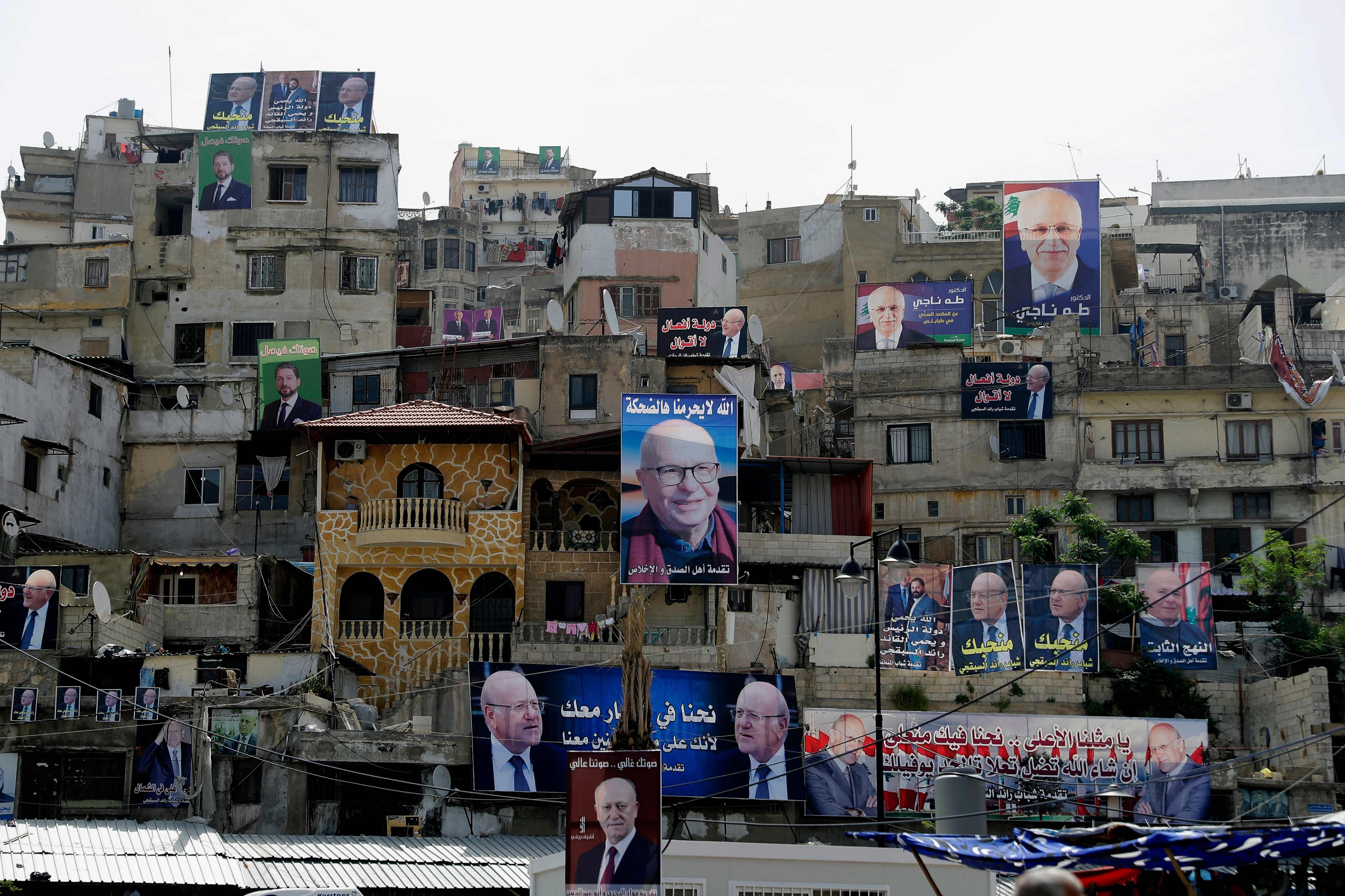 مرشحو الانتخابات اللبنانية