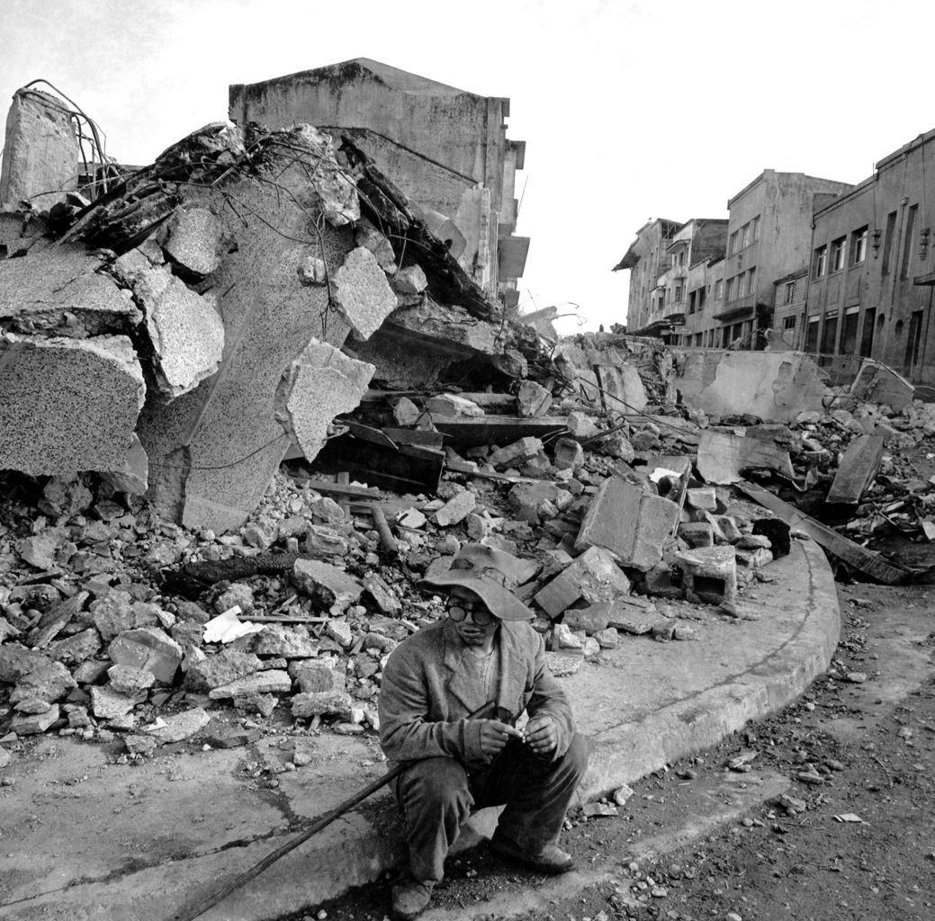 عواقب زلزال تشيلى