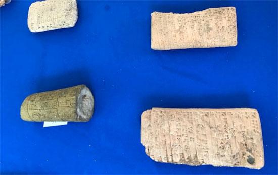 العراق يستعيد قطع أثرية تم سرقتها