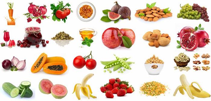 اكلات تحتوى على الالياف لعلاج الامساك