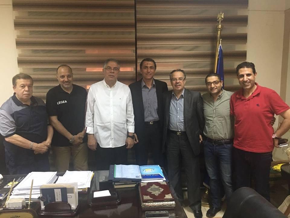عبد الناصر محمد بعد التوقيع لطنطا