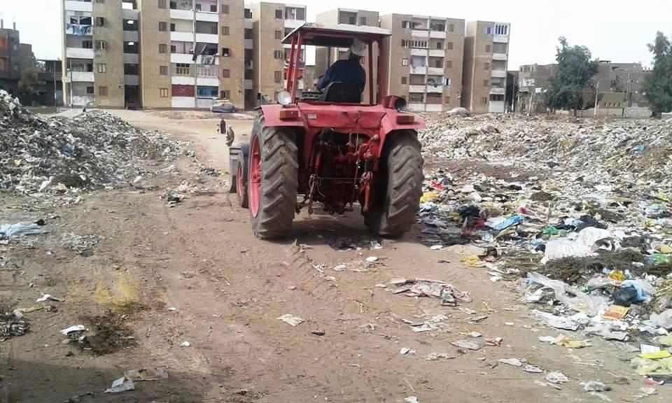 اعمال النظافة والتجميل بالمراغة (1)