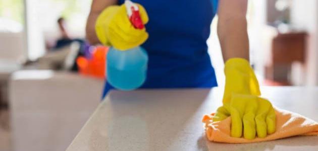 طريقة_تنظيف_المنزل_بأسرع_وقت
