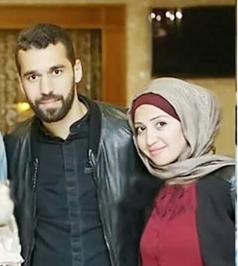 عبد الله السعيد وزوجته