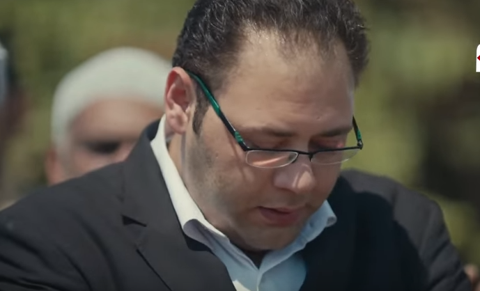 محمد علي رزق في دور مايكل في مسلسل أيوب
