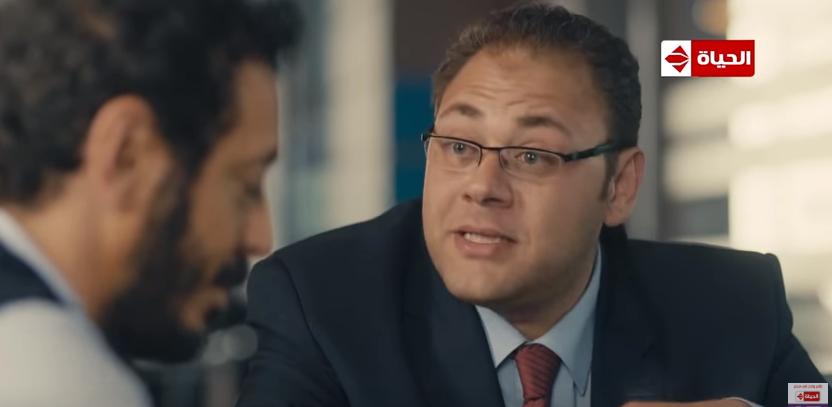 محمد علي رزق في مسلسل ايوب في دور مايكل