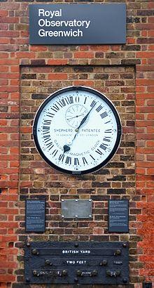 ساعة غرينيتش
