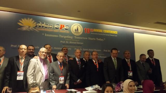 المؤتمر السنوى العاشر لجمعية الإسكندرية لرعاية مرضى السرطان  (3)