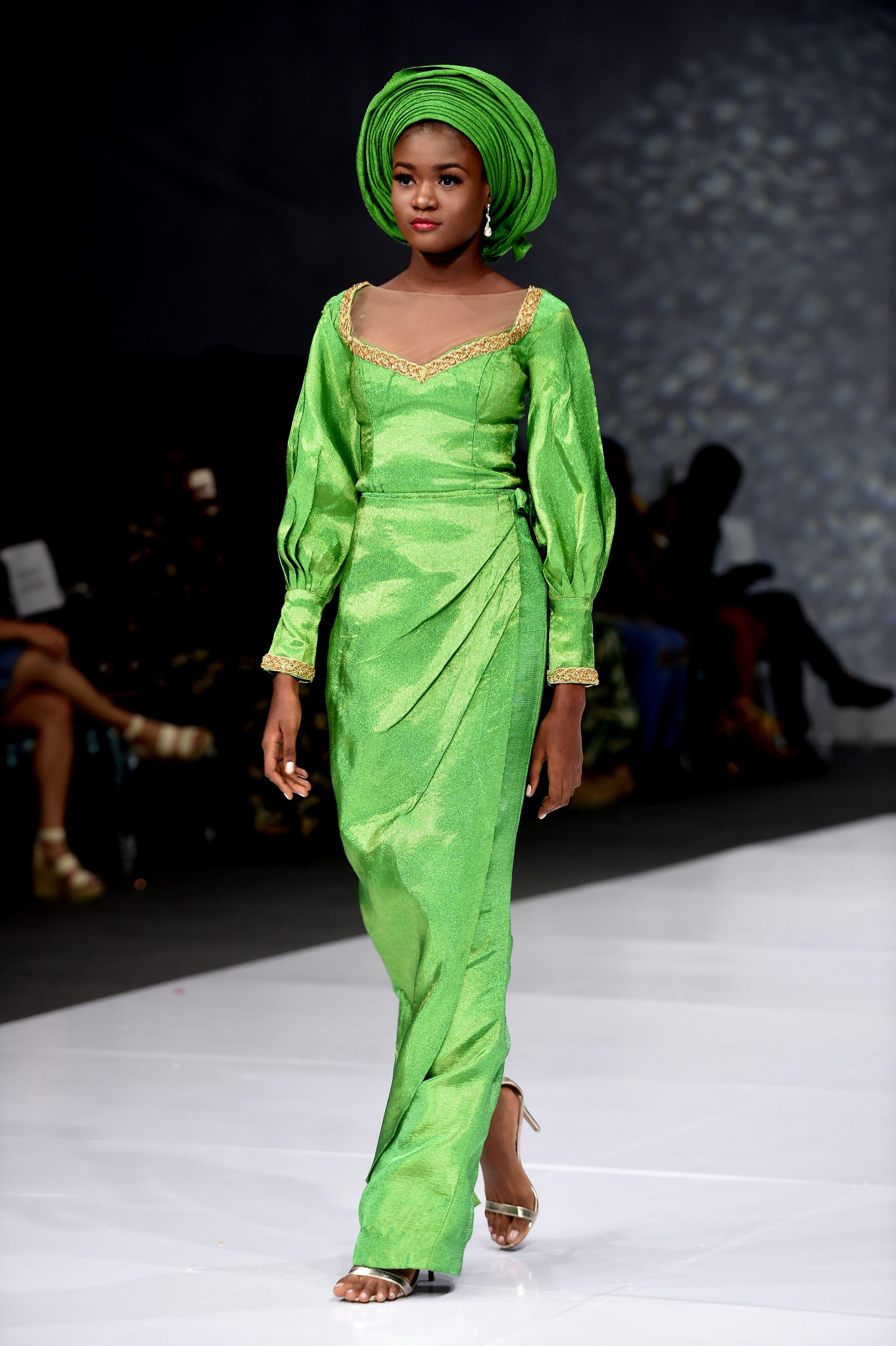 موضة فساتين الزفاف بأسبوع الموضة للعرائس فى نيجيريا