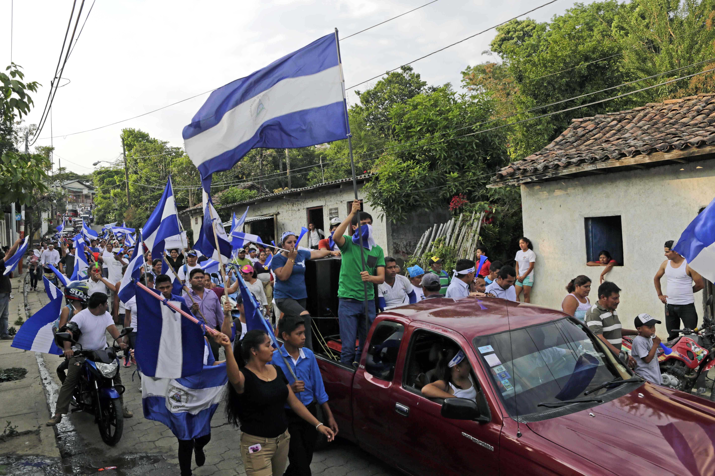 مسيرات فى نيكاراجوا