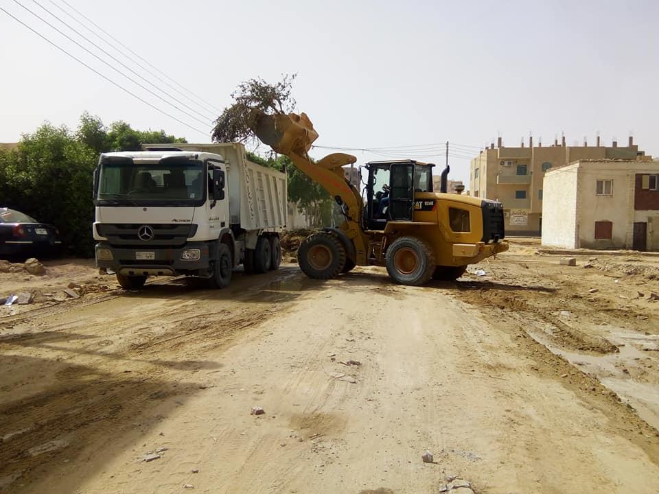 جانب من أعمال التطوير