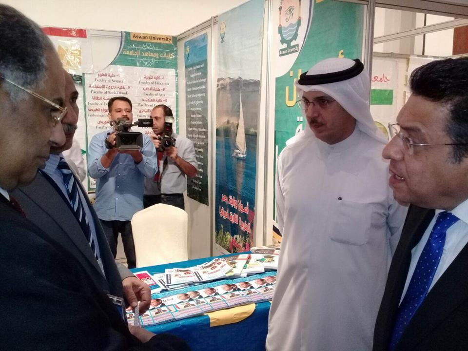 فعاليات المعرض التعليمي بالكويت