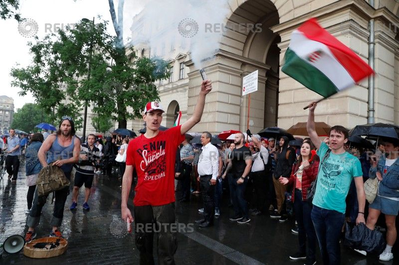 متظاهري المجر