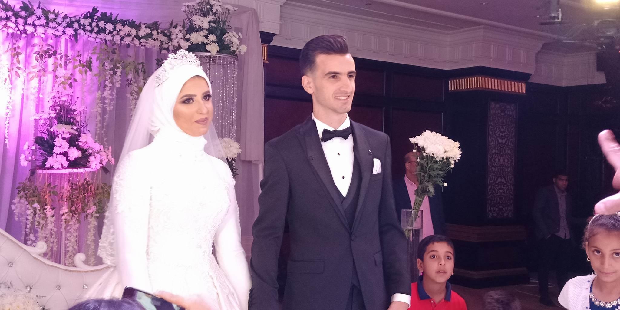 دونجا يحتفل بحفل زفافه (2)