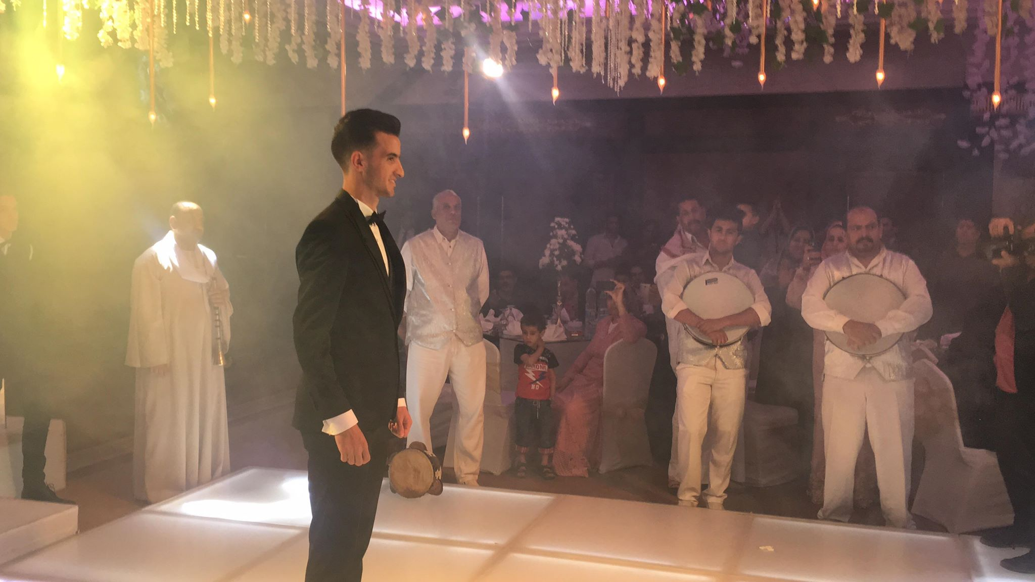 دونجا يحتفل بحفل زفافه (12)