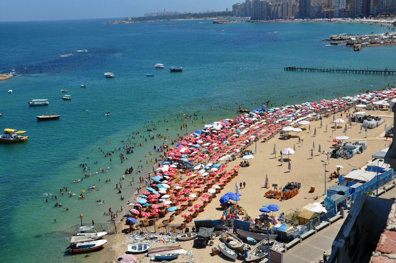 شاطئ ميامى بسيدى بشر