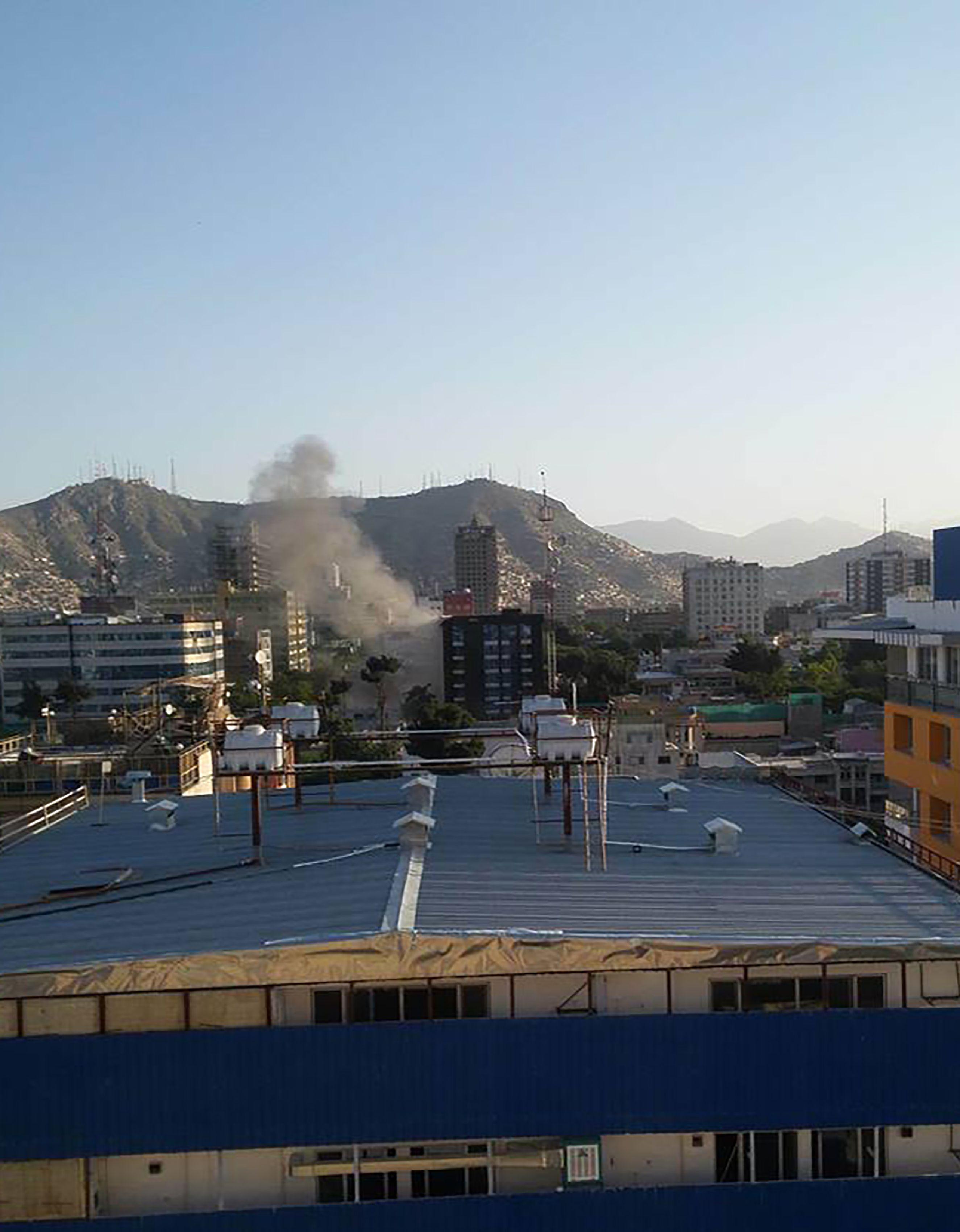 جانب من التفجير
