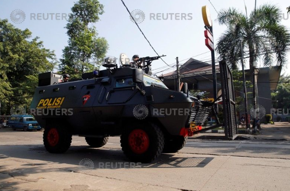 عناصر الجيش الإندونيسيى