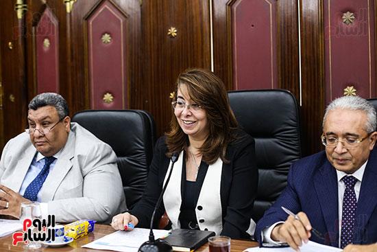 غادة والى وزيرة التضامن (4)
