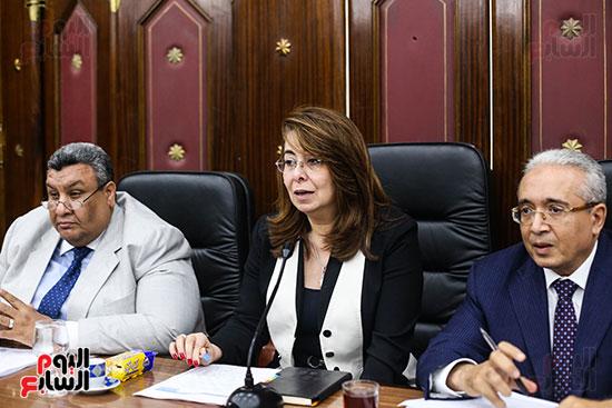 غادة والى وزيرة التضامن (3)