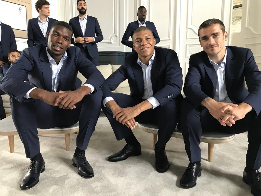 نجوم منتخب فرنسا