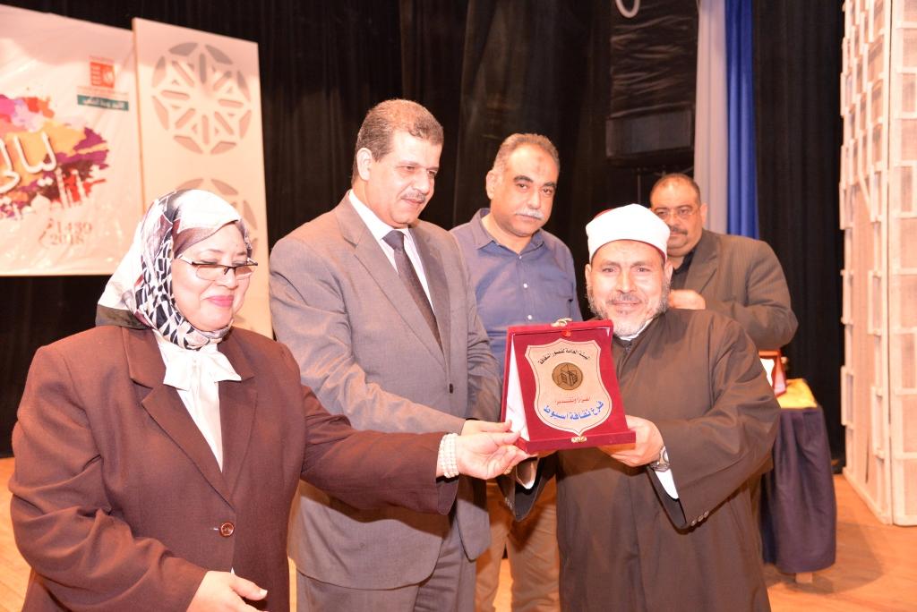 حفل ختام ليالى رمضان وتكريم الفائزين (15)