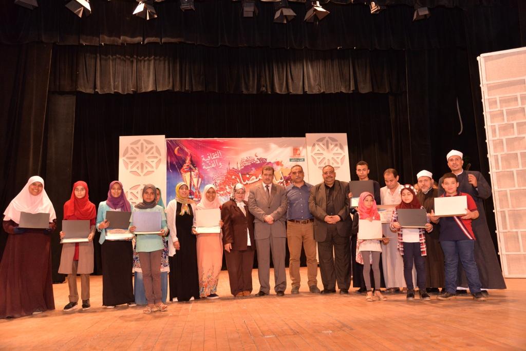 حفل ختام ليالى رمضان وتكريم الفائزين (19)