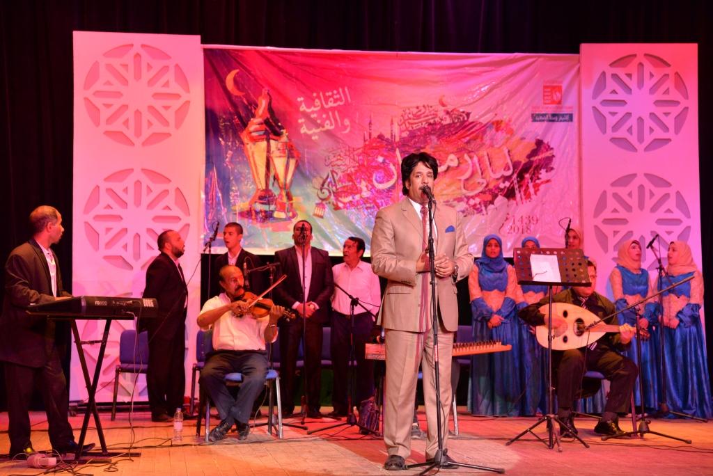 حفل ختام ليالى رمضان وتكريم الفائزين (8)
