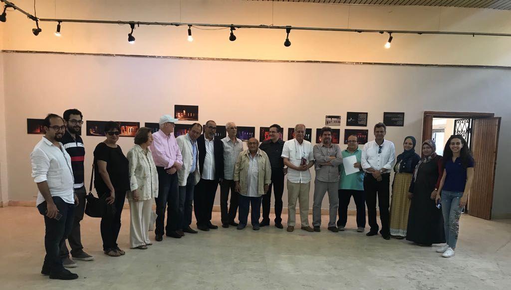 6جانب من الحضور فى معرض الدكتور مصطفى شقوير بفنون جميلة الزمالك (4)