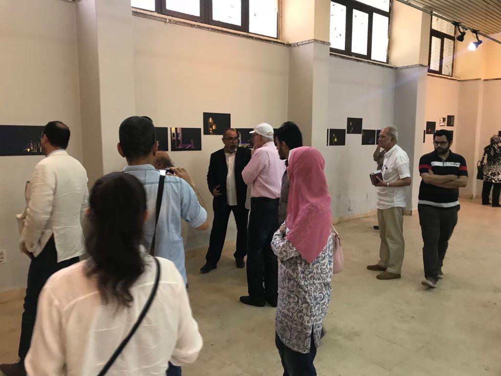 12جانب من الحضور فى معرض الدكتور مصطفى شقوير بفنون جميلة الزمالك (2)