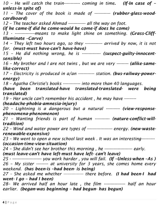 أقوى مراجعة نهائية للثانوية العامة فى اللغة الإنجليزية وتوقعات بأهم الأسئلة - مس ابتهال غزال مستشار اللغة الإنجليزية 128512-مراجعة-نهائية-فى-اللغة-الإنجليزية-(4)