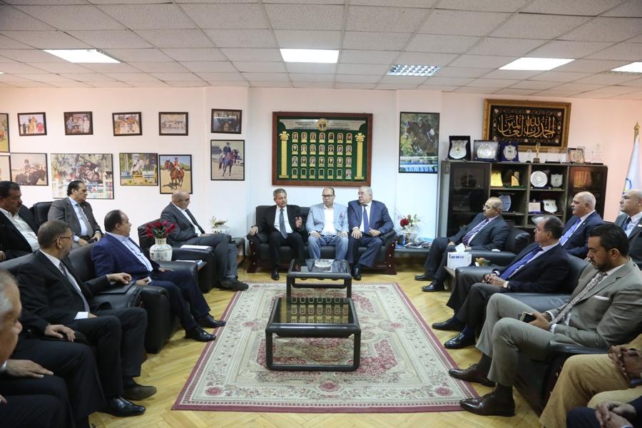 اجتماع الوزير باللجنة الاوليمبية
