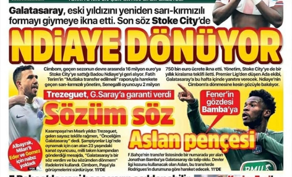 تريزيجيه حديث الاعلام التركي