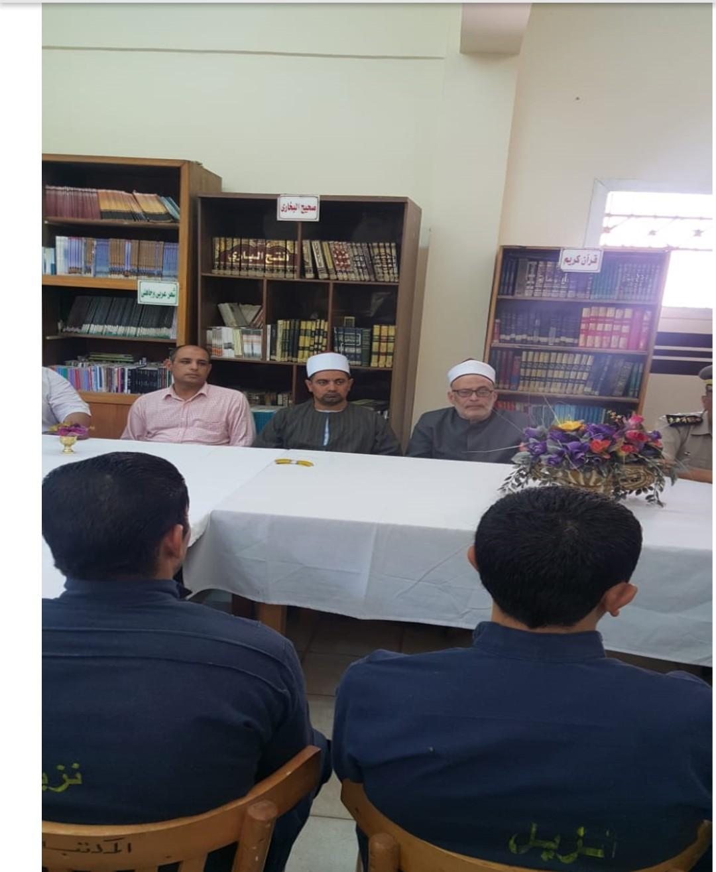 ندوات دينية وتثقيفية لنزلاء السجون بالمرج والمنصورة (1)