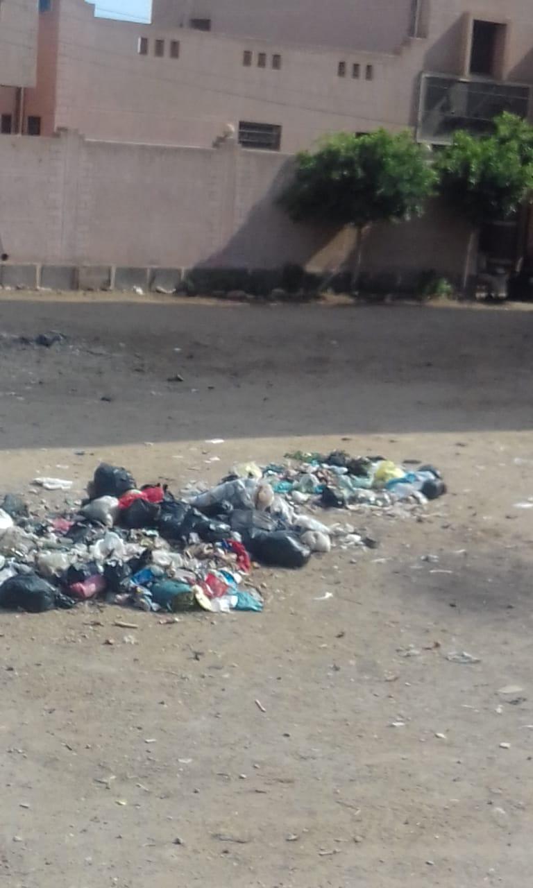 القمامة فى شوارع شبرا باخوم (1)