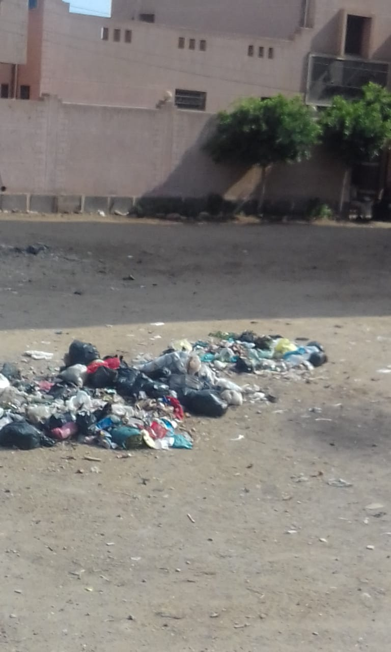 القمامة فى شوارع شبرا باخوم (3)