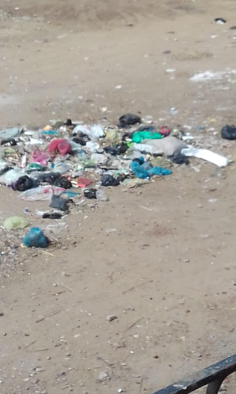 القمامة فى شوارع شبرا باخوم (4)