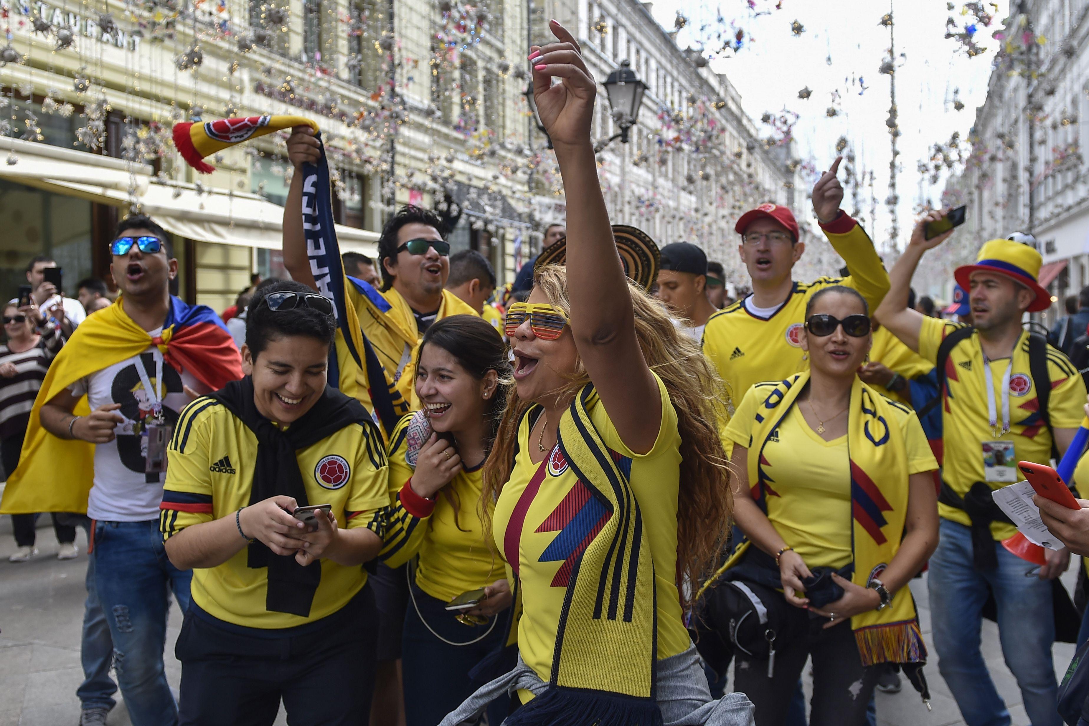 الجماهير الكولومبية