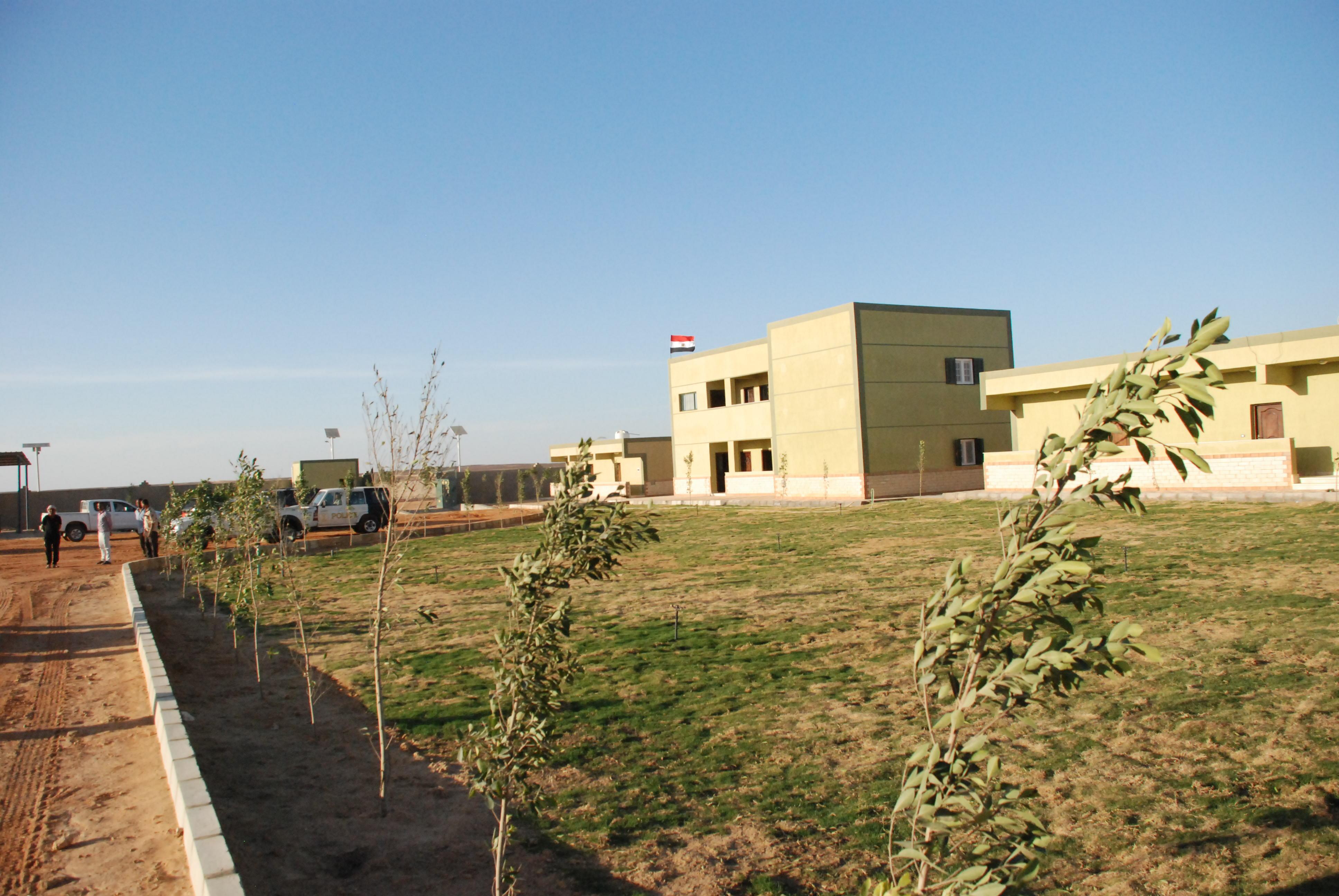 المرحلة الأولى من مشروع الـ20 ألف فدان بغرب غرب المنيا  (12)