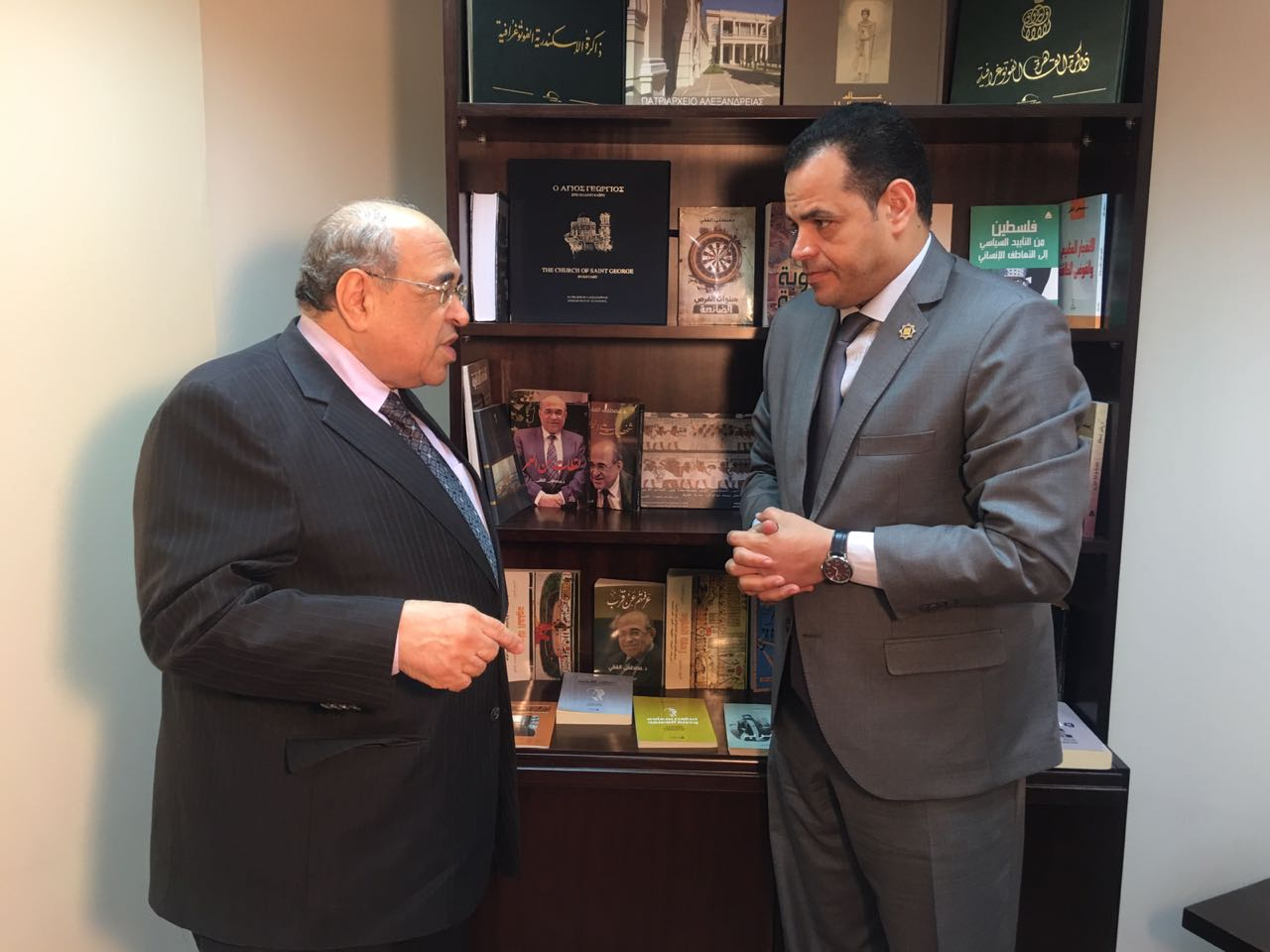 حوار أخبار مصر مع مصطفى الفقى  (3)