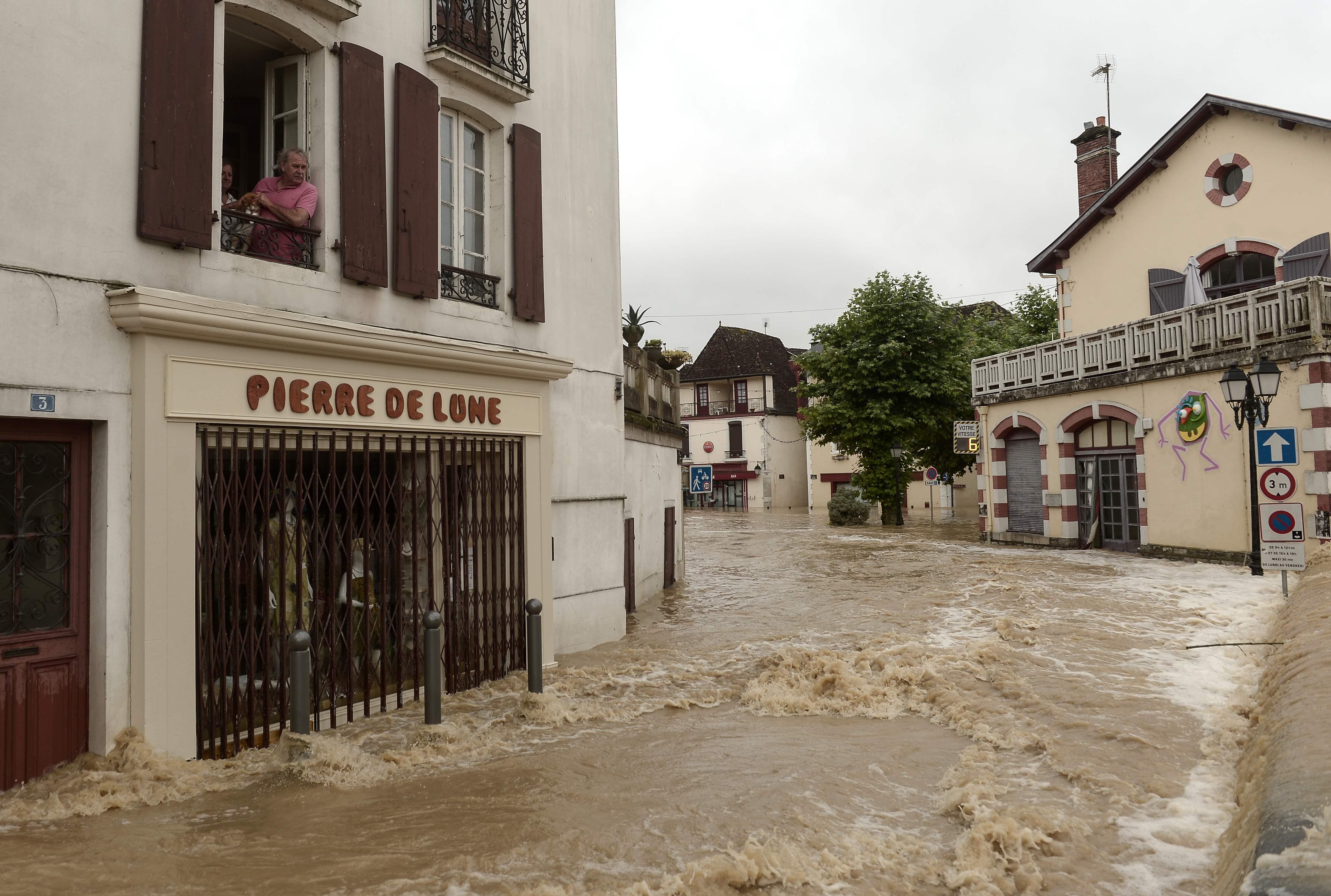 أمطار وفيضانات