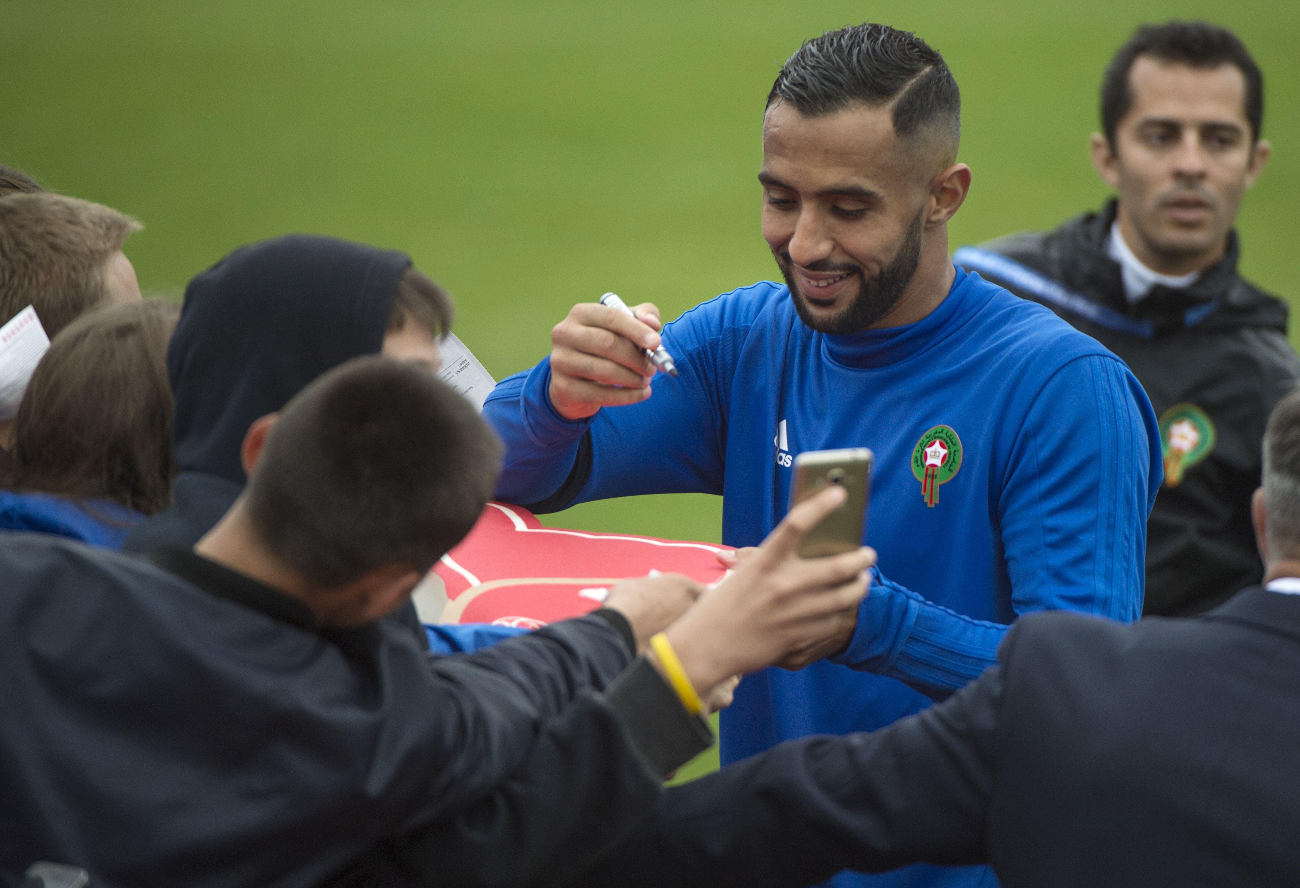 مهدي بن عطية قائد منتخب المغرب