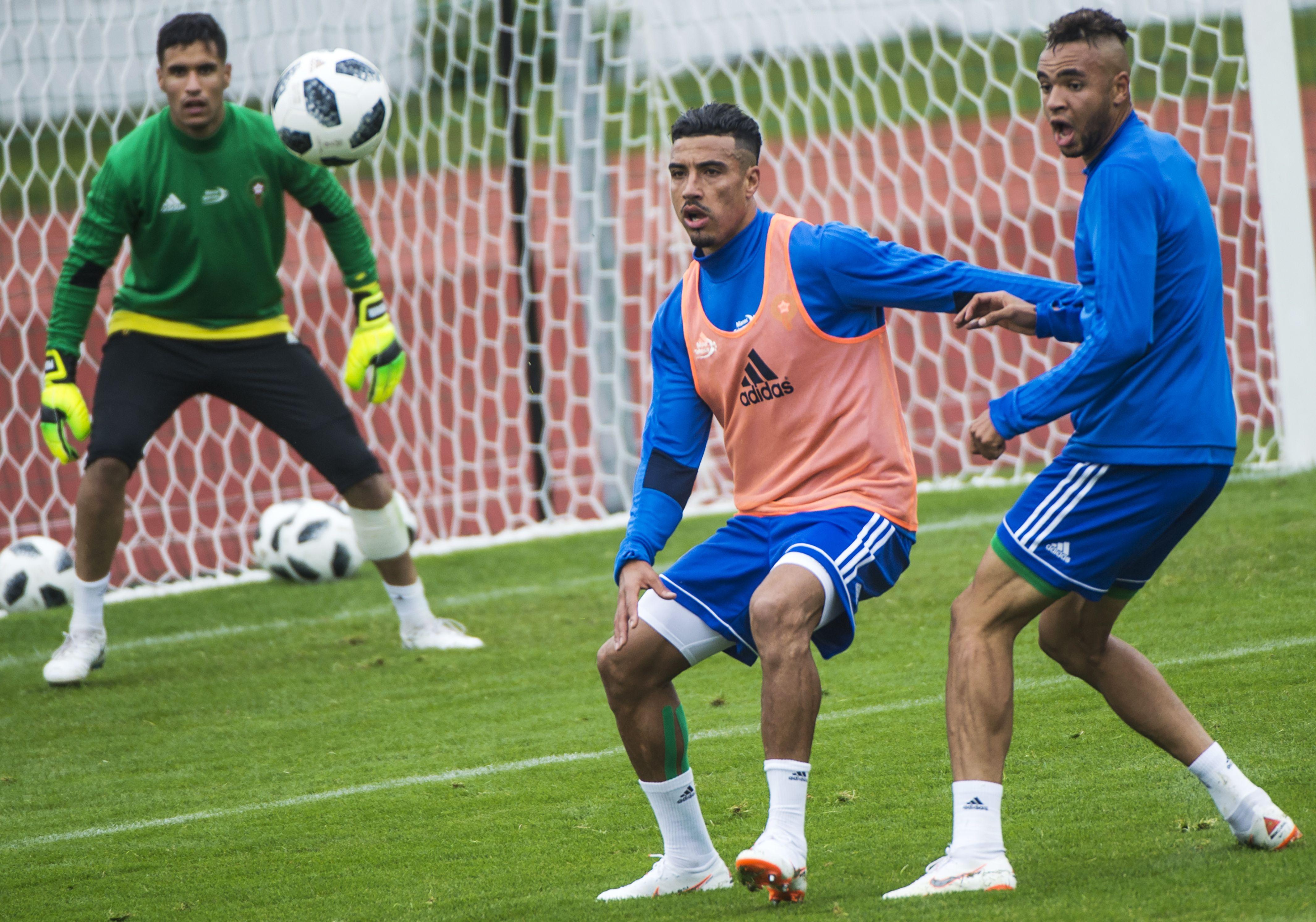تدريبات منتخب المغرب اليوم