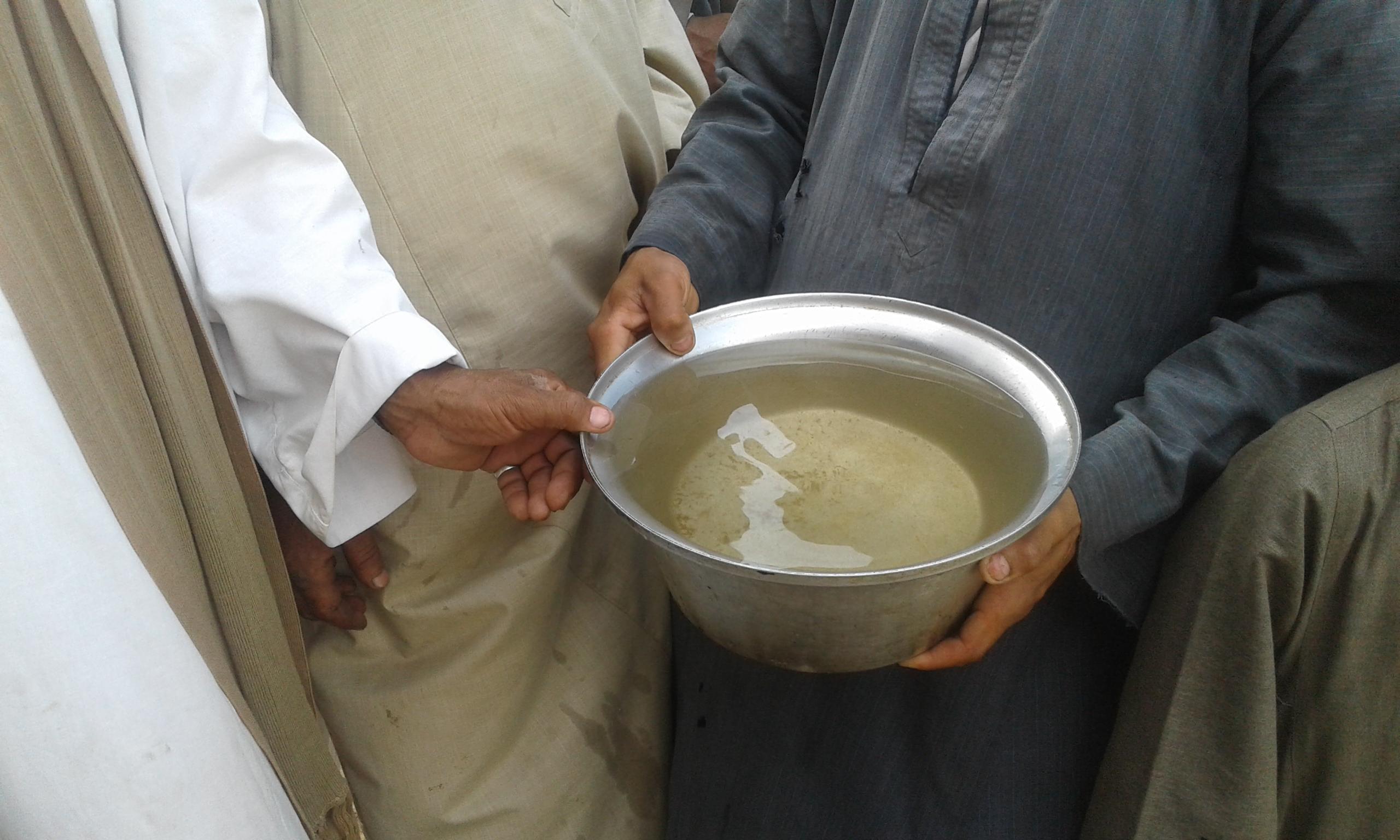 مياه الشرب ملوثة