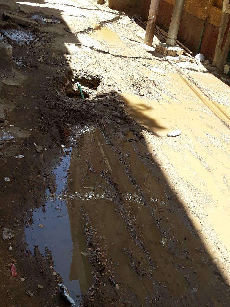 غرق شارع طراد النيل