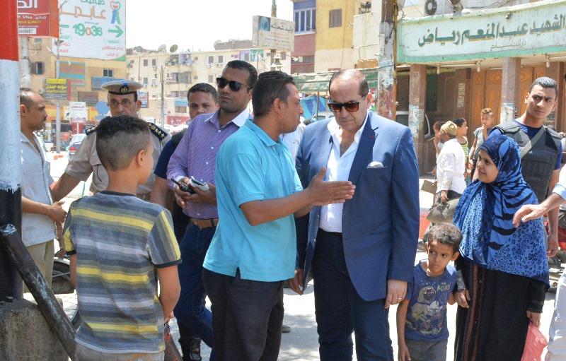محافظ سوهاج يتابع أعمال النظام ورفغ الاشغالات بحى غرب (3)