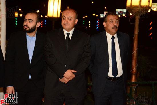 عزاء والد علاء الكحكى (2)